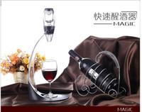 Wholesale Magic Decanter Red Wine Aerator Essential Decanting Set With Bag Hopper Wine Aerator Cup