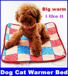 Wholesale 220V Adjustable Pet Electric Pad Blanket for Dog Cat Warmer Bed Dog Heating Mat new top sale Drop shipping