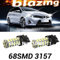 Wholesale 4pc Xenon White SMD LED Bulbs For Turn Signal Brake Backup Parking Drl Daytime Lights
