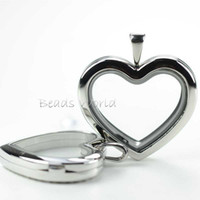 Headbands Unisex Fashion Free Shipping 1 Pcs Stainless Steel Heart Origami Owl Glass Floating Living Memory Locket Pendant 30mm Wholesale (W02778 X 1)