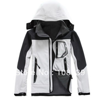 Jackets Men Polyester Spring and Autumn Hot Selling Men's Outdoor Sportswear Softshell Jacket Zipper Hooded Outerwear Coat 001