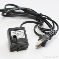 Wholesale Mini L H Aquarium Submersible Water Pump Fish Tank Power head Fountain Hydroponic W v dandys