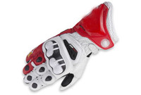 Wholesale 2014 NEW GP Pro Motor racing gloves Motorcycle gloves protective gloves off road gloves motorbike gloves red color size M L XL