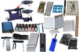 Wholesale 8 USA Dispatch Butterfly Rotary Tattoo Machine Professional high quality Permanent Tattoo Kit