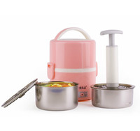 Non Stick Coating Inner Pot 200 220 Seed electric lunch box SD-922 stainless steel steaming machine heating lunch box
