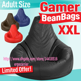 Wholesale Adults size GAMER BEANBAG XXL limited offer OUTDOOR bean bag chair black