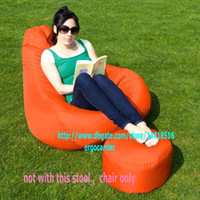 Wholesale Adults size GAMER BEANBAG XXL limited offer OUTDOOR bean bag chair Pearl beanbag sofa seat Orange