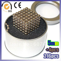 buckyballs - D5mm Buckyballs Magnetic Balls Sphere Cube Puzzle Intelligence Toy Direct Factory Sale