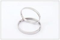 2014 hot sale silver star bracelet, A quality titanium steel...