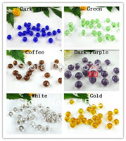 faceted rondelle beads - x6mm Crystal Glass Faceted Rondelle Curtains Beads In Bulk For Jewelry Making