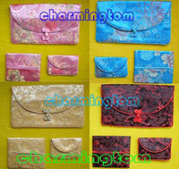 Wholesale CHINESE HANDMADE SILK PURSE Wallets POUCH