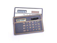 Wholesale Mini Slim Credit Card Solar Power Pocket Calculator