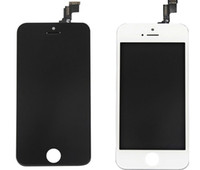 Cheap LCD Display & Touch Digitizer Complete Screen with Frame Full Assembly Replacement for iPhone 5 5G Black White 10pcs