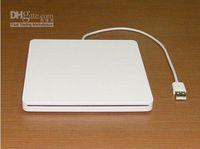 Wholesale Unique Design USB Portable Ultraslim Slot in External DVD Enclosure For Apple Macbook DHL