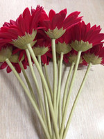 Wholesale High Quality PU Real Touch Gerberas cm Length Wedding Bridal Flowers Artificial Gerberas Flowers