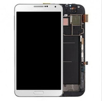 For Samsung Samsung Note 3 LCD Screen Panels Original LCD Screen Digitizer Touch White Black for Galaxy Note 3 N9000 N9002 N9005 N900A N900T N9006 With frame free shipping