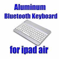 Wholesale Hot Sale Ultrathin wireless Aluminum Bluetooth Keyboard Dock for iPad air iPad waitingyou