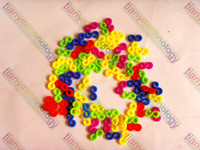 Wholesale S Clips for DIY Rubber Band Loom Rubber Bands Bracelets Connector Tool set