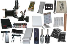 Wholesale 10 rotary tatto machine Professional high quality Permanent Tattoo Kit