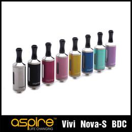 Original Aspire Vivi Nova-S Clearomizer 3.5 Ml Capacity Electronic Cigarette Atomizer Aspire Vivi Nova-s Clearomizer