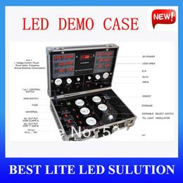 Wholesale comparable LED demo case The high end LED digital display test box LED lighting demo box led show case