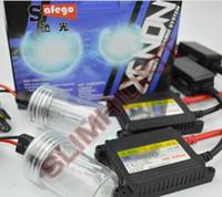 Wholesale 1 set V DC W slim hid xenon kit H1 H3 H7 H8 H9 H10 H11 H13 xenon hid kit