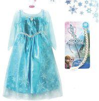2014 Elegant and Beautiful Frozen Dress Elsa Summer Dress Pr...
