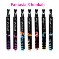 Wholesale Brand New Original Fantasia E hookah pen puffs with flavors disposable hookah pen DHL