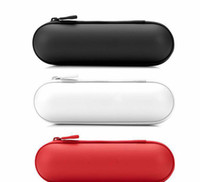 Wholesale Wireless Bluetooth Pill Speaker Zipper Case Leather Pouch Carry Bag Case for Audio Player Speaker