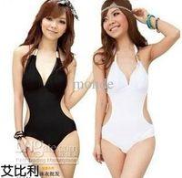 Wholesale NEW Hot Women Bikini Swimwear amp Beachwear Siamese Triangle Halter bikini Sexy women s bikini