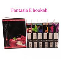 nicotine - Fantasia E Hookah Disposable E Cigarettes Nicotine Free E Cig Pens Flavours Ehookah Portable E Shisha Pen puffs Metal Tip