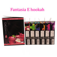 Wholesale Original Fantasia E Hookah Disposable E Cigarettes Nicotine Free E Cig Pens Flavours Fruit Vaping Electronic Cigarette
