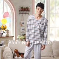 Wholesale 2014 Spring Men s Kurta Pajama Fashion Heated pajamas For Men Cotton Pajama Suit For Autumn