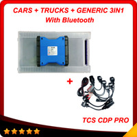 Code Reader For Audi cdp 2013.3 with keygen as gift New design DS150E New TCS CDP PRO CAR+TRUCK TCS CDP+ Pro Plus with Bluetooth with car cable free shipping