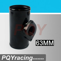 Wholesale 2 quot to quot T Pipe Aluminum BOV Adapter Pipe for PSI TYPE S RS BOV SL L MM