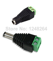 Wholesale DC connecter usd for adapter connect to the led strip dc12v v led strip