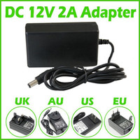 Wholesale 12v DC power supply A AC DC V Power Supply Charger Transformer Adapter for LED RGB Strip light switching mode power supply