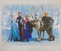 Cheap Hot 1:1 dvd movies Frozen puzzle cartoon dvds Frozen DHL Free Shipping