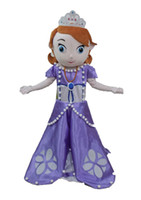 Cheap 100% real pictures deluxe princess sofia costume mascot adult fancy dress