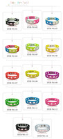 silicone shoes - Mixed cm or cm Jibbitz Bracelet for shoe charms silicone bracelets party gifts