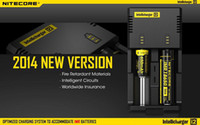 Wholesale Promotions NITECORE Intellicharger i2 Charger for Battery Charging i2 Charger Free DHL EMS Free