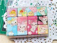 Wholesale cute series glass Fridge Magnets per set Refrigerator sticker