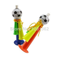 Wholesale Football Soccer Plastic Fans Horn Loudpeaker Party Cheering World Cup Supply Large Size CM