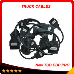 DHL free shipping 2017 tcs cdp pro for truck Cables full 8 cables cdp pro plus truck cables Hot sell