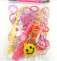 Link, Chain Unisex Plastic / Resin 20sets Rainbow loom woven bracelet rubber band ( 600 +12 S + Y -type buckle +1 crochet weaver )