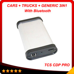 Wholesale 2014 New arrival cdp pro with bluetooth version with keygen Hot selling tcs CDP Pro plus in1 for cars and trucks
