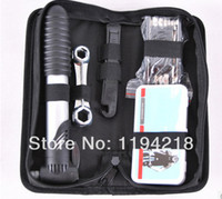 Wholesale 2014 new arrival Mountain bike tool combination tools tool bag set tire inflationists crowbar