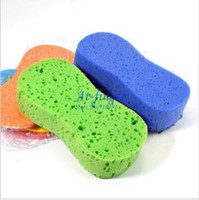 Wholesale 5pcs Ultralarge Vacuum Vompressed Sponge Car Wash Car Cleaning Sponge C0051