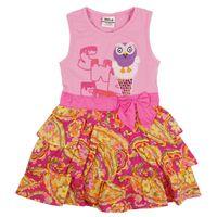 TuTu Summer A-Line children dress 2014 nova baby & kids clothing lovely flower stripped summer short evening tutu lace party dress for girls H4833#