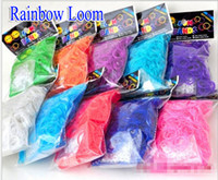 Unisex 8-11 Years Multicolor Newenst DIY Rainbow Loom Fluorescence night dark glow Rubber Band Refills Twistz Bands (600 bands+ 24 S C-Clips + 1 hook bag) free shipping